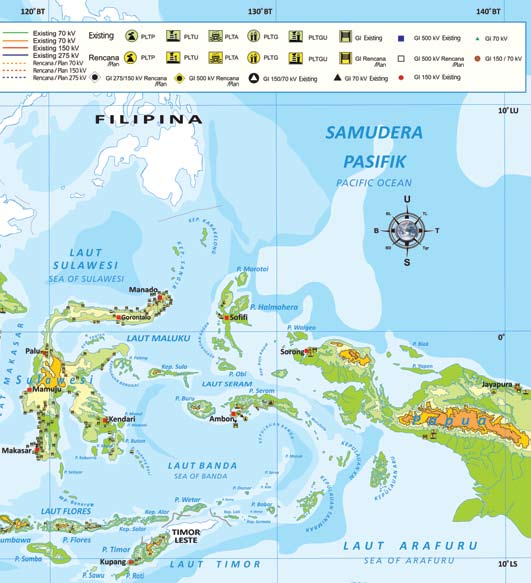 Laporan KEBERLANJUTAN 2011 SUSTAINABILITY Report 27 The Company s operational regions encompass all of Indonesia, as well as in border areas