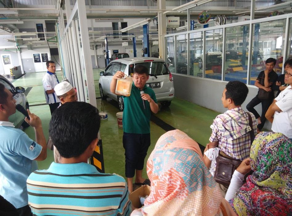 6. Workshop Detailing Lokasi di Ruang Marketing PT Sejahtera Buana Trada September