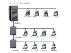 distribusi (Distributed Processing).