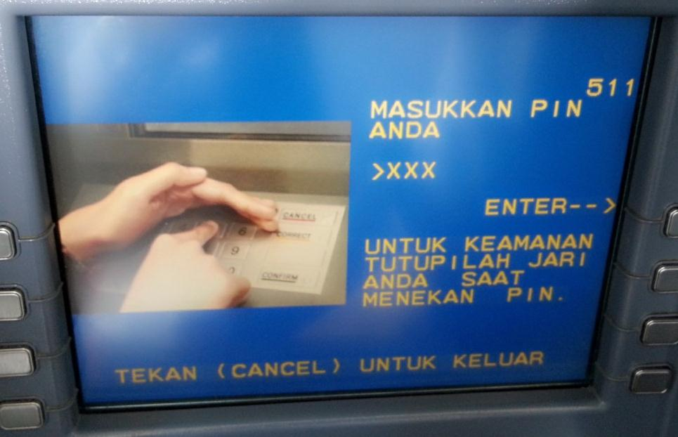 E-Channel ATM Bank Mandiri 1