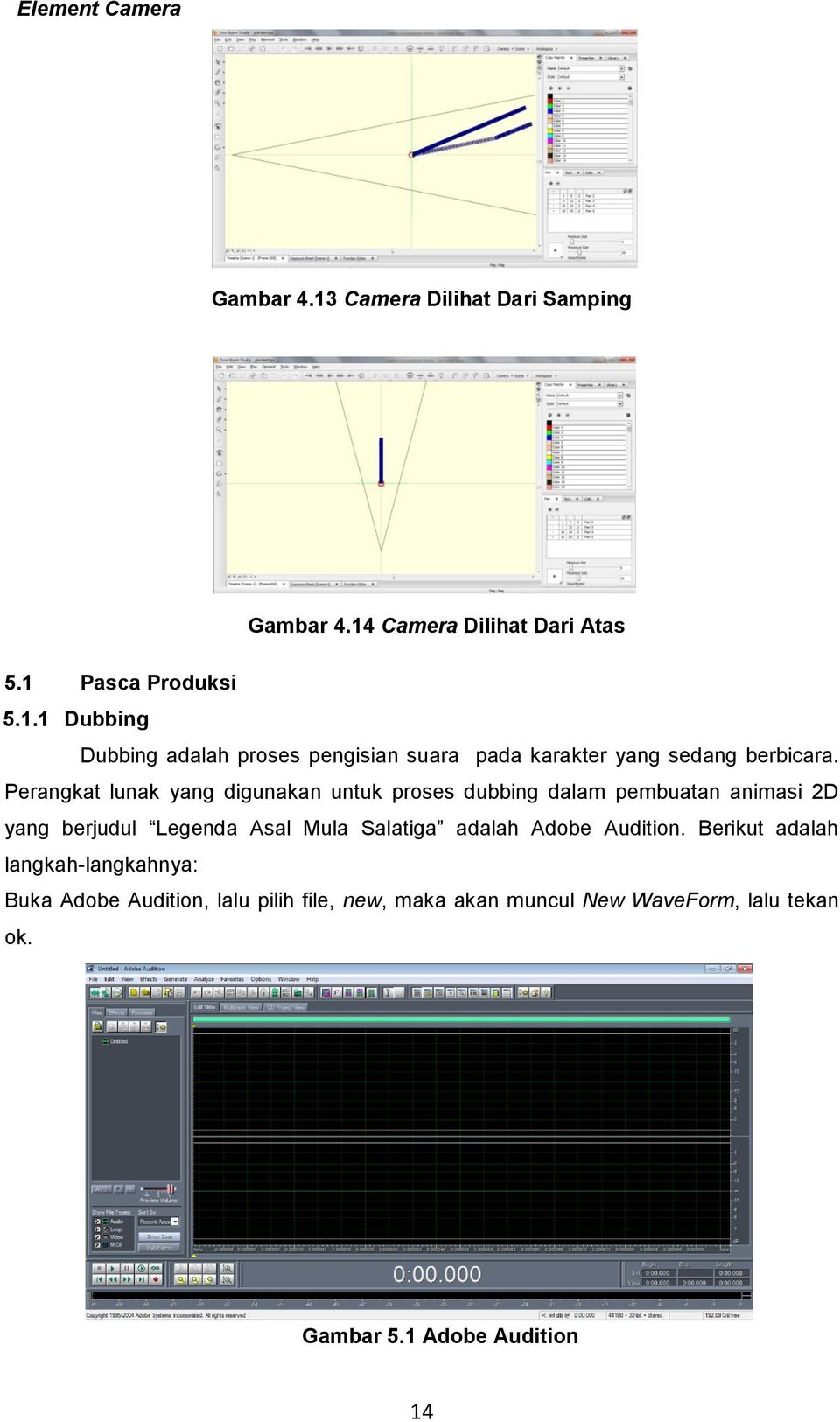adalah Adobe Audition.