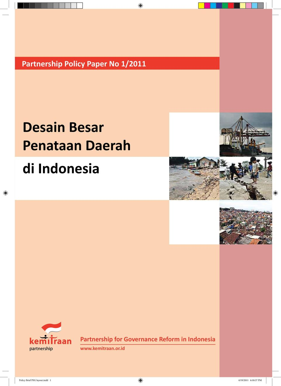 Governance Reform in Indonesia