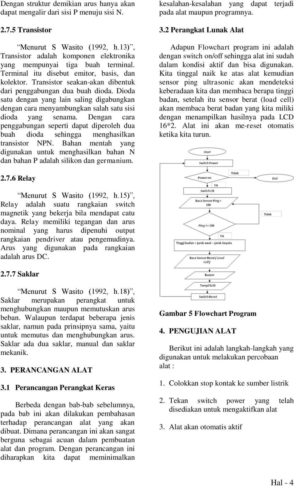 journal alat ukur berat dan volum