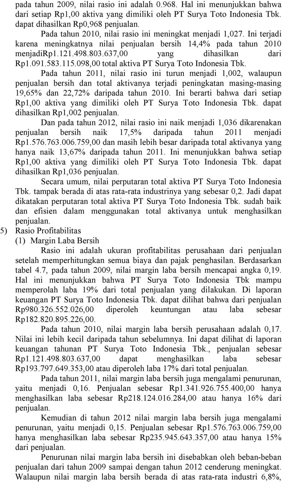 115.098,00 total aktiva PT Surya Toto Indonesia Tbk.