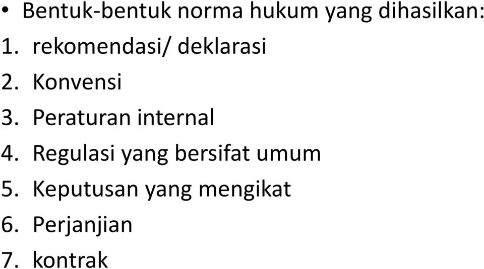 Peraturan internal 4.