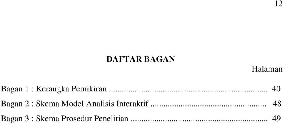 .. 40 Bagan 2 : Skema Model Analisis