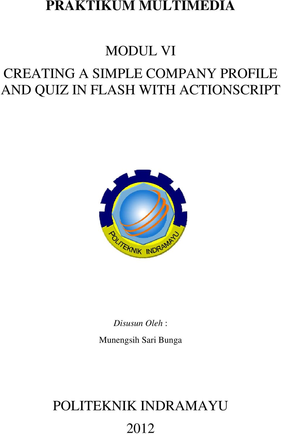 AND QUIZ IN FLASH WITH