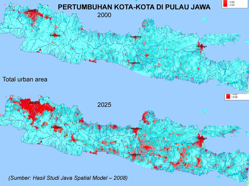 Total urban area 2025