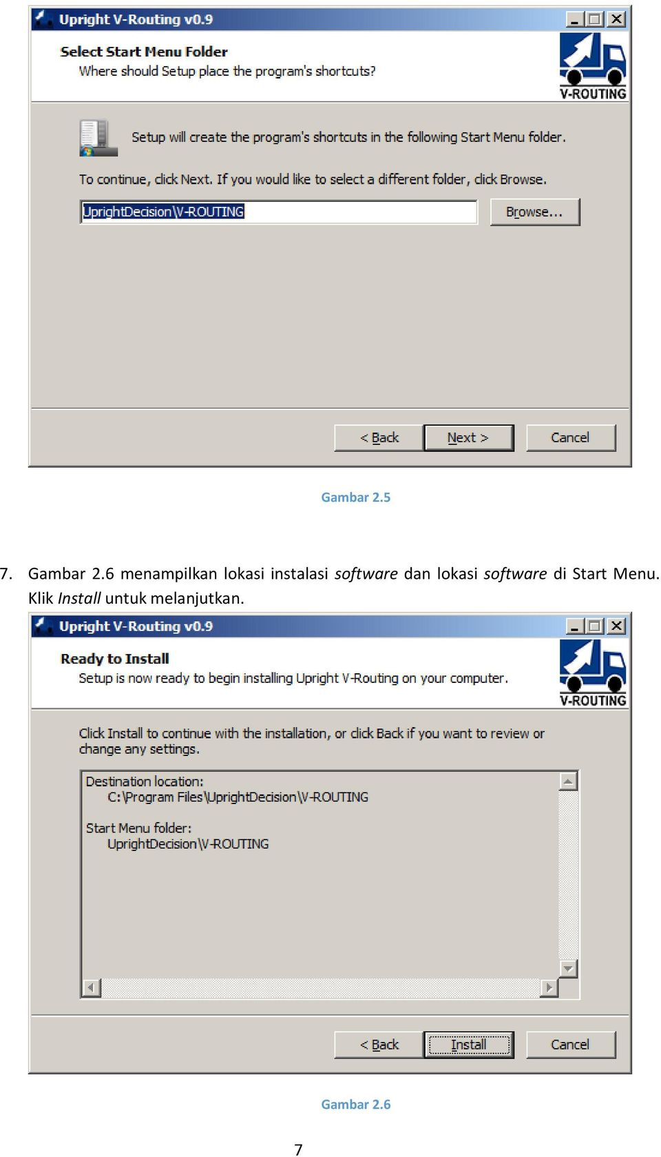 software dan lokasi software di