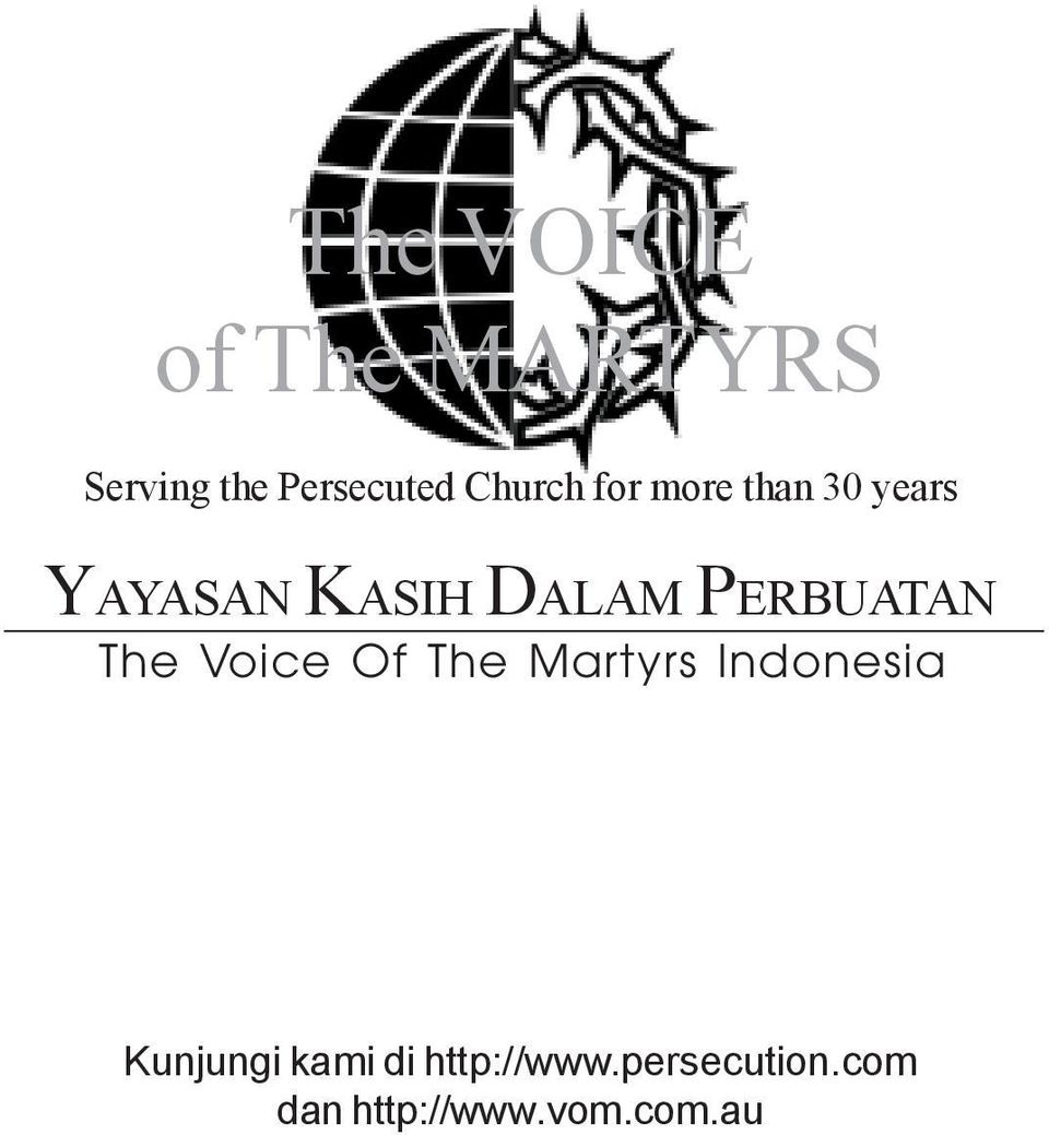 PERBUATAN The Voice Of The Martyrs Indonesia