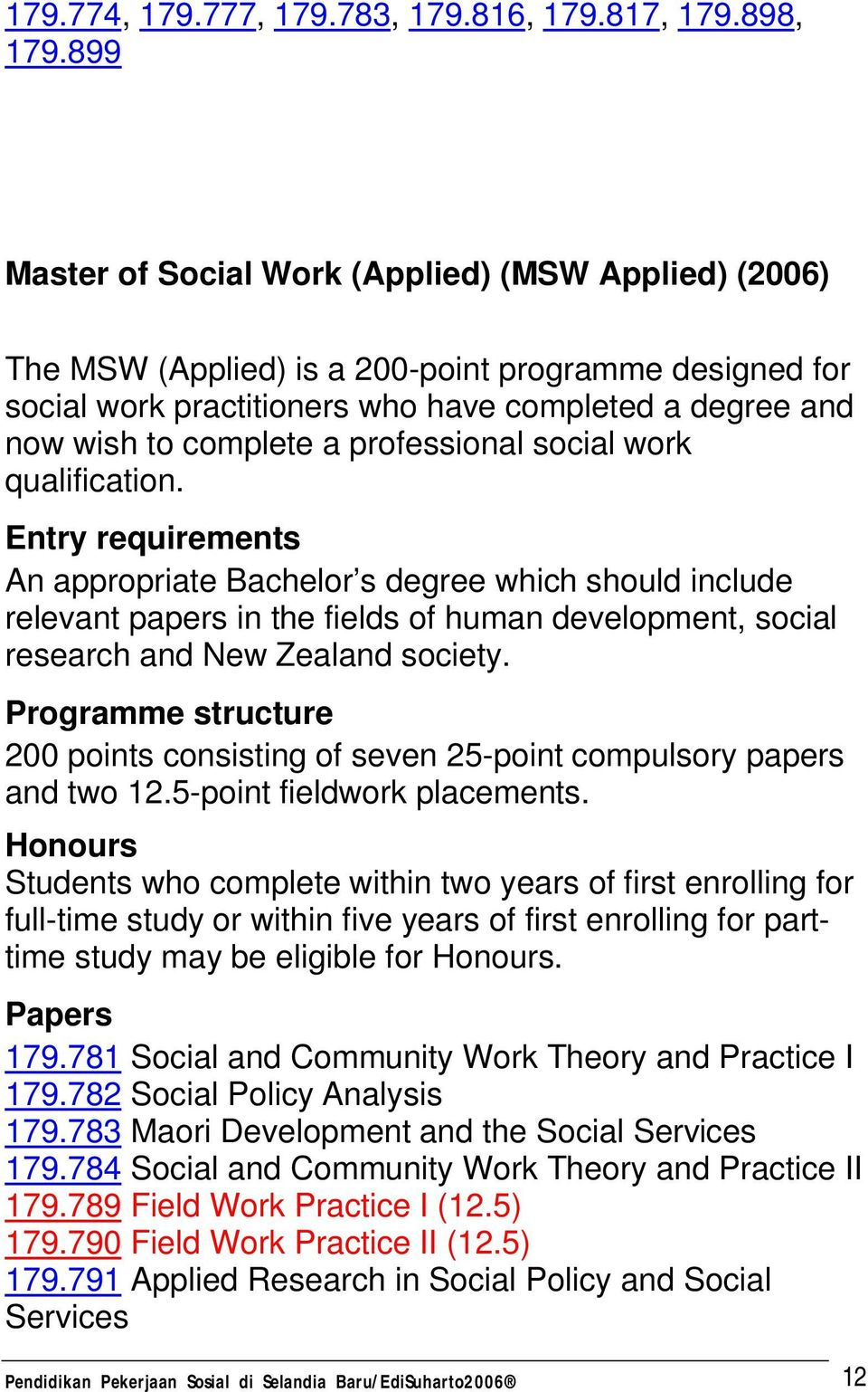 professional social work qualification.