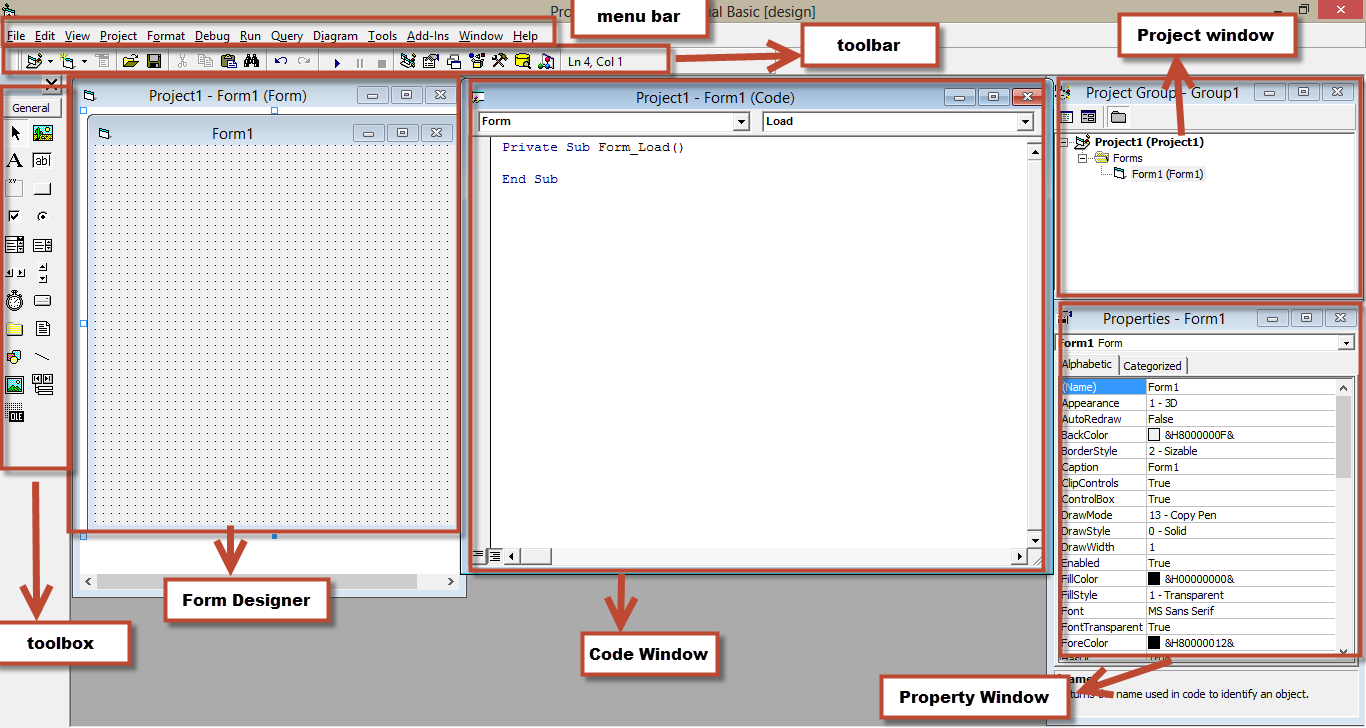 MODUL 1 PENGENALAN VISUAL BASIC 6.0 A.