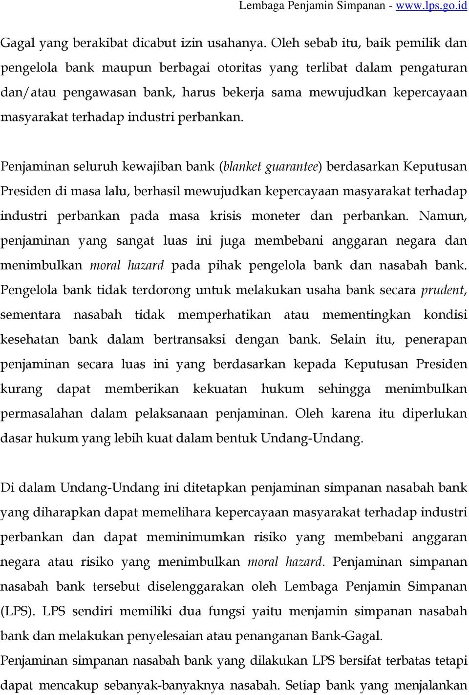 industri perbankan.