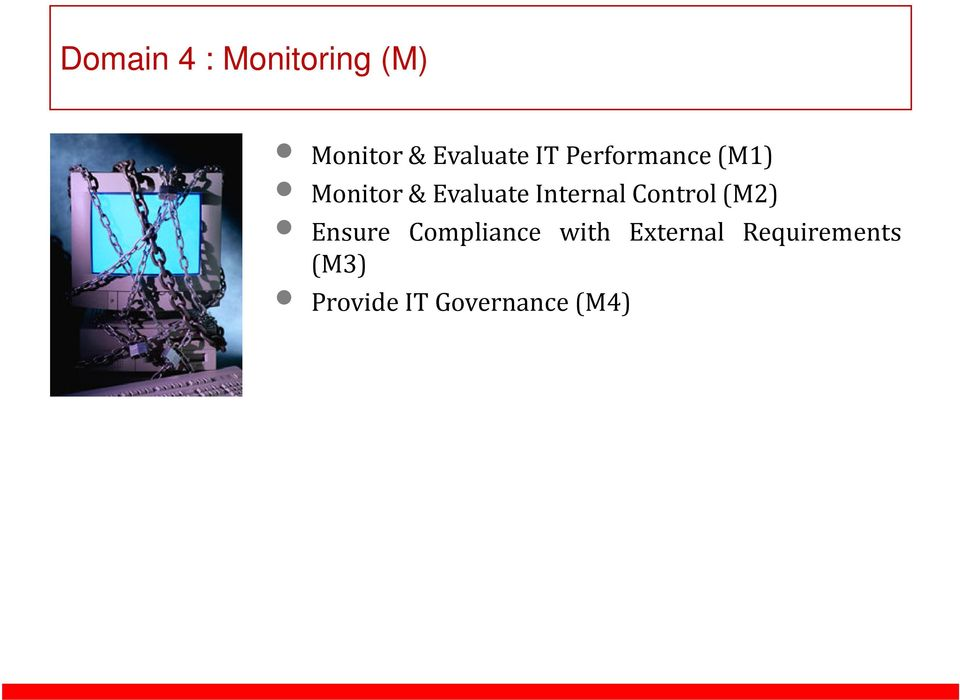 Internal Control(M2) Ensure Compliance with