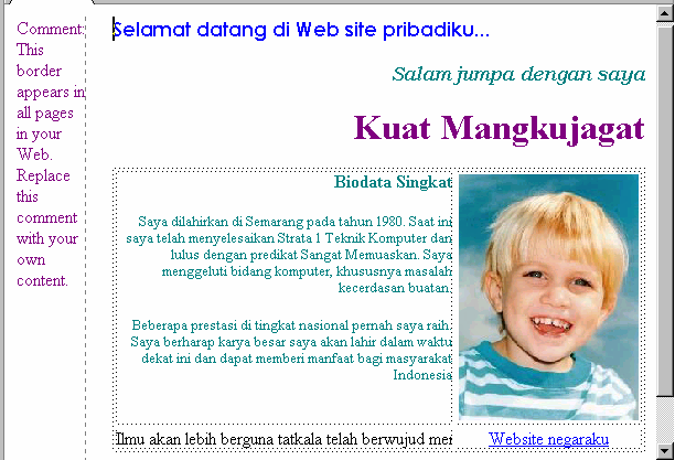Modul Workshop : Membuat Website Personal 10 52.