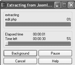 Gambar 2.18 Proses Extract File 9.