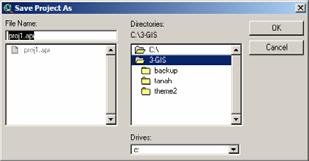 9) Simpan Project FILE SAVE PROJECT DIRECTORIES FILE