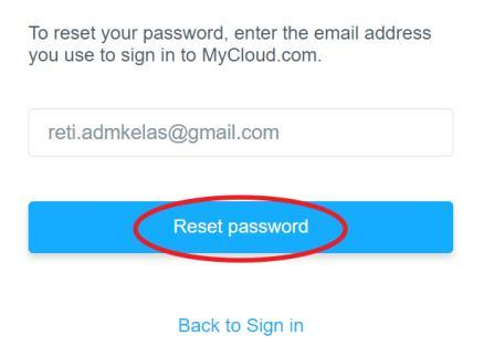 Setelah terbuka halaman sign in klik menu Forgot Password 4.