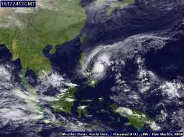 Gambar 2.5 Citra Satelit Tanggal 24 Desember jam 20.00 Wita (Sumber : http://weather.is.kochi-u.ac.jp/sat/gms.sea/2016/12) B.