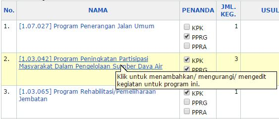 Gambar 23. Proses Pilih Program 2.