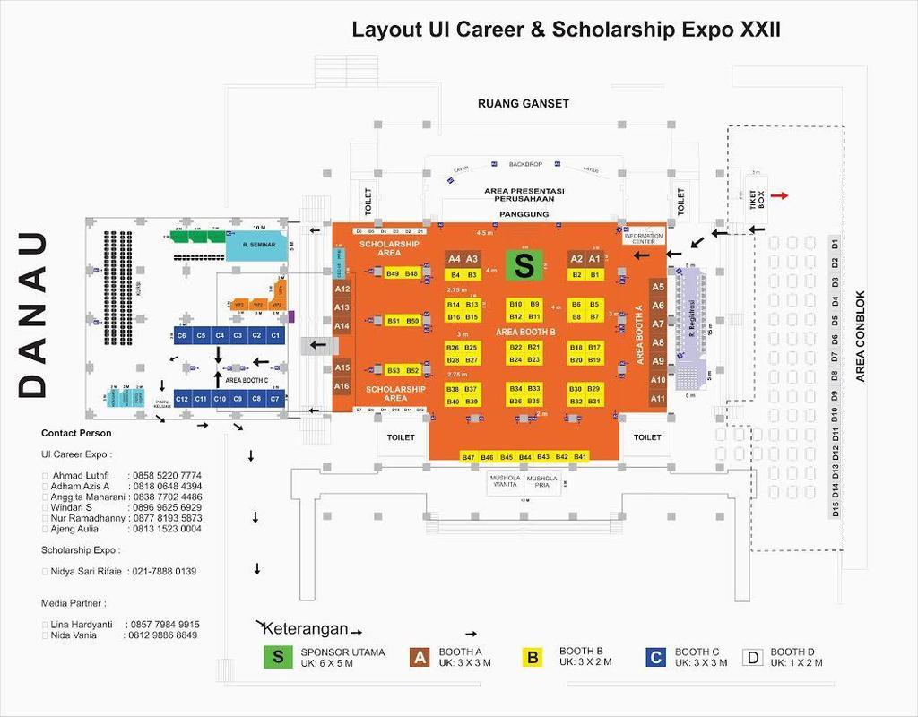 LAY OUT UI CAREER & SCHOLARSHIP EXPO XXIV 2017 Contact Person UI Career Expo : Amrih Halil :