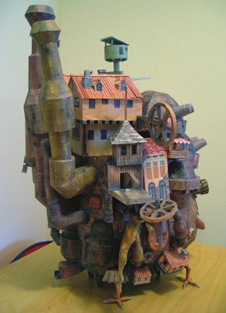 com/blog/2011/10/howls-moving-castle-papercraft/) Howl s Moving Castle papercraft karya Ben Millet (Deskripsi nama