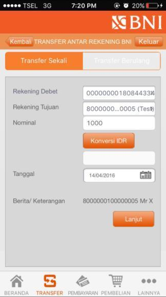 Virtual Account Bank