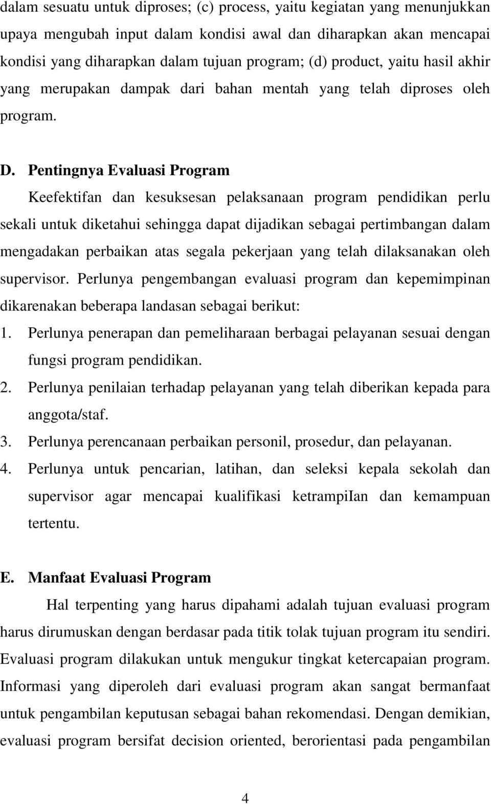 Evaluasi Program Sekolah Pdf Download Gratis