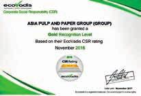 Asia Pulp And Paper Annual Report